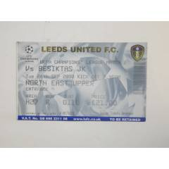BE��KTA� BJK MA� B�LET� BE��KTA� LEEDS UNITED FC