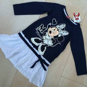 Disney Minnie Mouse �ocuk Elbisesi