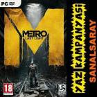 METRO LAST LIGHT STEAM CD KEY EU-INGILIZCE
