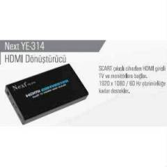 NEXT YE-314 SCART TO HDMI CONVERTER
