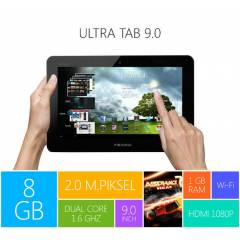 Piranha Ultra Tab 9' �ift �ekirdek 8GB TABLET PC