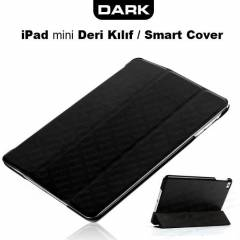 Dark iPad Mini Smart Cover ve Deri K�l�f