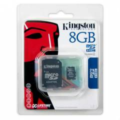 KINGSTON 8 GB MICRO SDHC KART (Class 4)