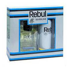 Rebul SILVERLINE EDT 100ml for men+deo