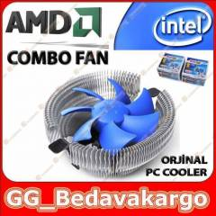 Orjinal PC Cooler AMD ve �ntel ��lemci Fan�