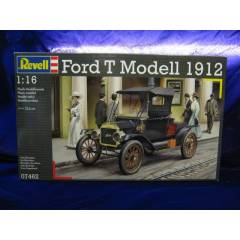 Revell 1/16 1912 model Ford T model araba maketi