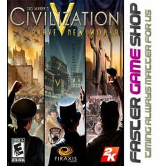 Civilization V: Brave New World Steam HEMEN