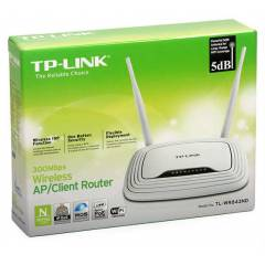 TP-LINK WR843ND KABLOSUZ ROUTER 4 PORT 300mbps