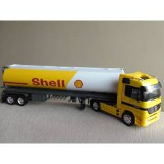 1:32 WELLY MERCEDES BENZ ACTROS SHELL TANKER