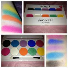 Beauty Uk POSH EYESHADOW PALETTE FEST�VAL