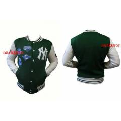 NEW YORK  NY   YE��L  -KOLEJ CEKET-JACKET-MONT