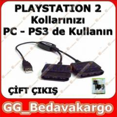 Playstation 2 Kolunu PC ve PS3 te Kullan�n 2 li