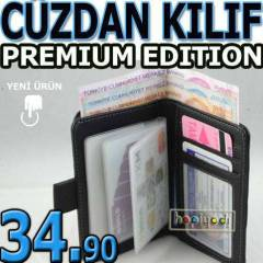 APPLE iPHONE 5S KILIF C�zdan Premiu Kapakl� DER�