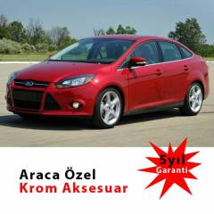 Spider Ford Focus 3 Sedan Cam ��tas� Kromu Pasla