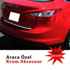 Spider Ford Focus 3 Sedan Bagaj Alt� ��tas� Krom