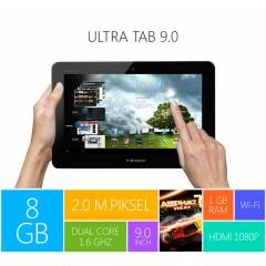 PIRANHA ULTRA TAB 9**DUAL CORE*8GB*Wi-Fi*3G*2MP*