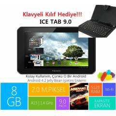 Piranha Ice Tab 9' 8GB Tablet PC+Klavye Hediye!