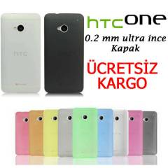 HTC ONE KILIF 0,2MM SL�M ULTRA �NCE