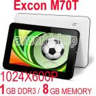 "Excon M70t 8GB 7"" Tablet Pc �ift Kamera 1024X60"