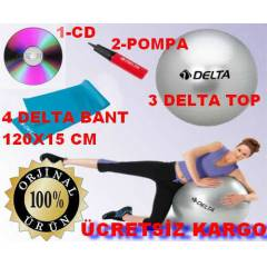DELTA P�LATES TOP+PLATES BANT+ POMPA+CD 4L�