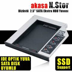 Akasa N.Stor Notebook Slim IDE Optik S�r�c�