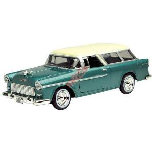 1955 CHEVY BEL AIR NOMAD 1:24 KLAS�K MODEL ARABA