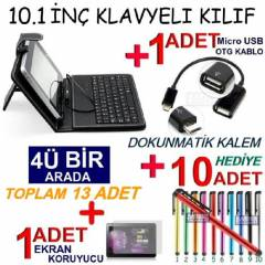 10.1 in� TABLET KILIF Klavyeli KILIF Stand SET