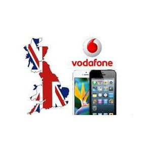 Apple iPhone UK VODAFONE Factory Unlock