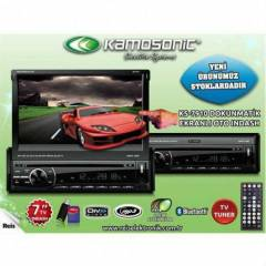 "Kamosonic KS-7910 7"" Indash Tv Bluetooth USB SD"