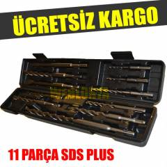 11 PAR�A SDS PLUS U� SET�  KIRICI DEL�C� U�