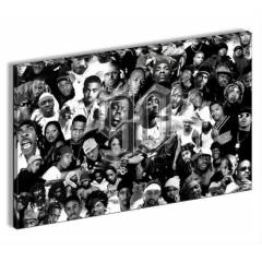H�PHOP EFSANELER RAP   CANVAS TABLO POSTER