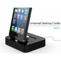 Apple iPhone 5 KiDiGi Masa�st� Stand ve �arj