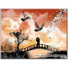 100x70cm �ER�EVEL� CANVAS TABLO FANTASY B000142