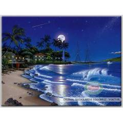 100x70cm �ER�EVEL� CANVAS TABLO FANTASY C001 991