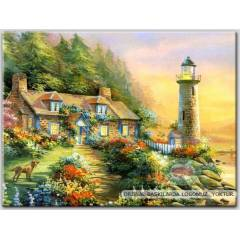 100x70cm �ER�EVEL� CANVAS TABLO FANTASY C001 645