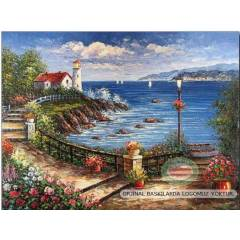 100x70cm �ER�EVEL� CANVAS TABLO FANTASY A00516