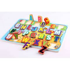 Alpahabetic Wooden Puzzle