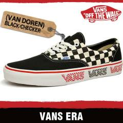 VANS // ERA - VAN DOREN - Black/Checker (Unisex)