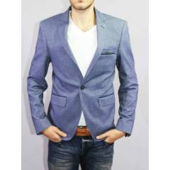 barcha oxford style slim fit blazer ceket