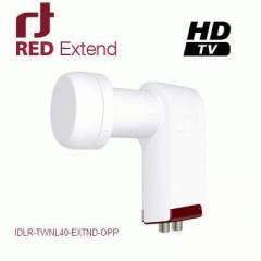 INVERTO Red Extend 0,3dB Twin LNB