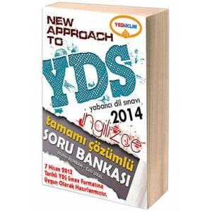 2014 YDS NEW APPROACH TO Soru Bankas� YED��KL�M