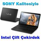 Sony Laptop �ift �ekirdek 4GB,500GB Windows 8