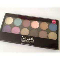 MUA 12 Shade Glamour Days Palette