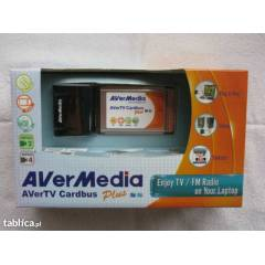 AVERMED�A ANALOG TV-TUNER CARDBUS PLUS - PCMCIA