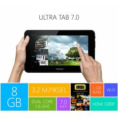 Piranha Ultra Tab 7.0 �ift �ekirdek Tablet PC
