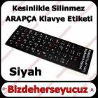 ARAP�A NOTEBOOK LAPTOP KLAVYE ET�KET� S�YAH