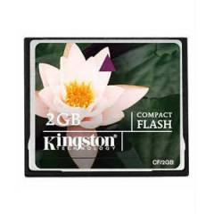 2 GB K�NGSTON COMPACT FLASH ( CF ) KART