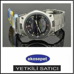 CASIO AW 80D WORLD TIME TELEMEMO ERKEK KOL SAAT�