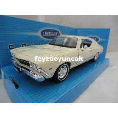 1968 CHEVROLET CHEVELLE SS396  WELLY 1:24 �L�EK
