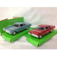 1965 CHEVROLET IMPALA SS 396  WELLY 1:24 �L�EK